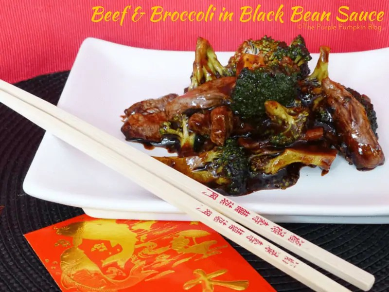 Beef and Broccoli in Black Bean Sauce
