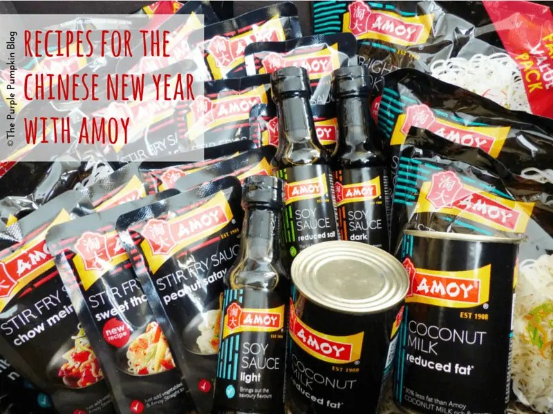 Recipes for the Chinese New Year with Amoy