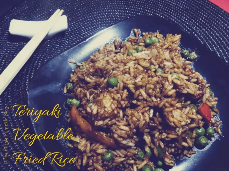 Teriyaki Vegetable Fried Rice