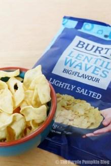 Burts Lentil Waves Lightly Salted