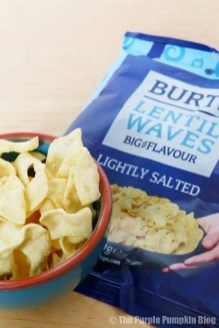 Burts Lentil Waves Lightly Salted