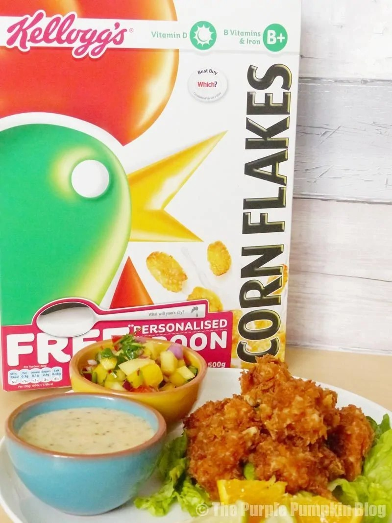 Cornflake + Coconut Shrimp