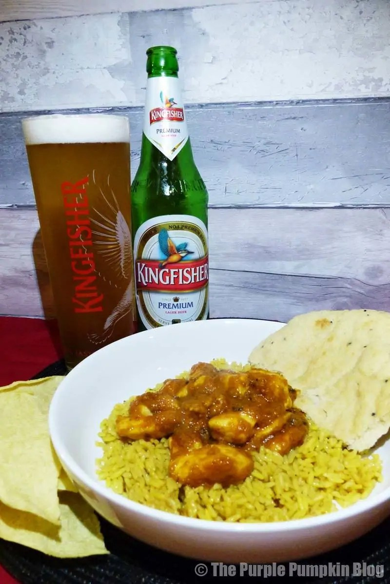 Kingfisher + The Spice Tailor
