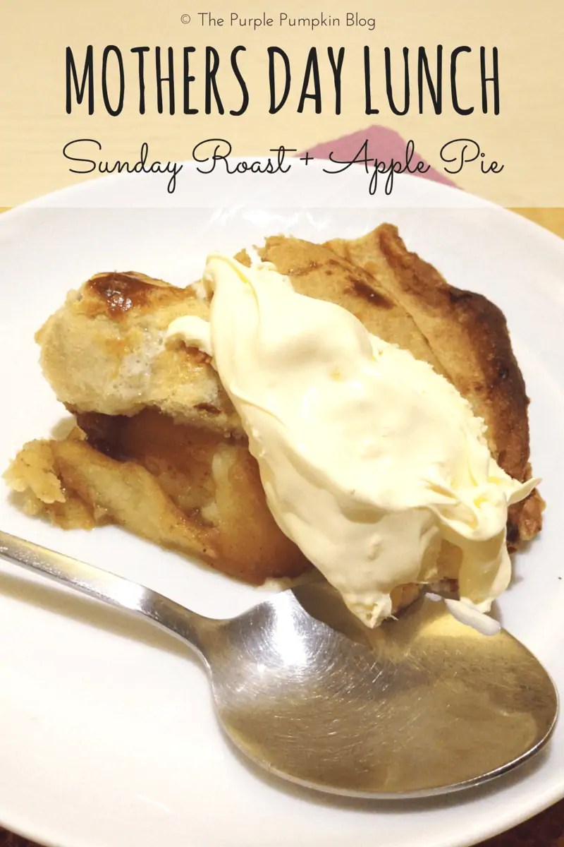 Mothers Day Roast Beef Lunch + Apple Pie