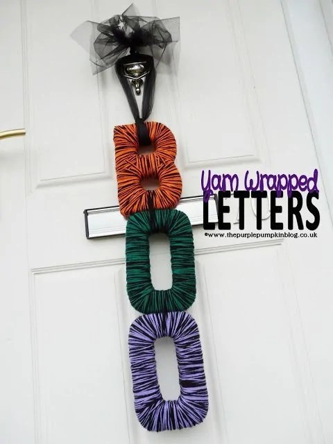 Yarn Wrapped Letters 2012
