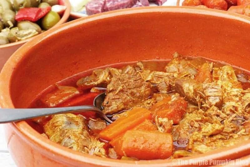 Adobo De Cerdo - Pork in Adobo Sauce