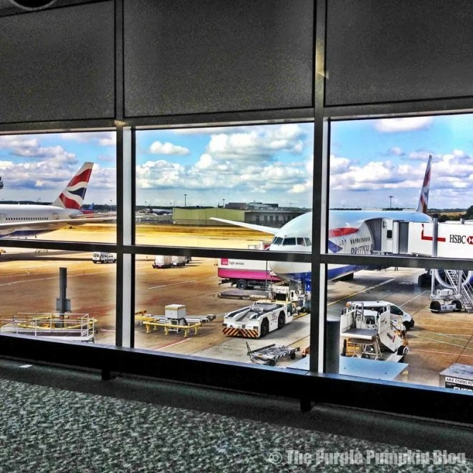 British Airways at Gatwick Airport