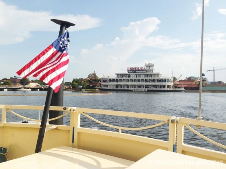 Downtown Disney - Boat Ride