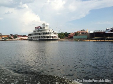 Downtown Disney - Boat Ride
