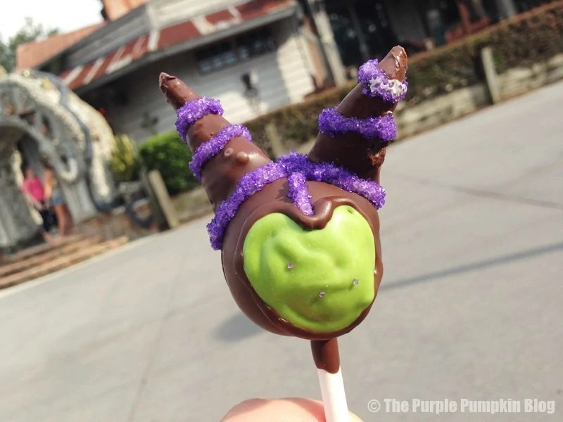 Maleficent Cake Pop