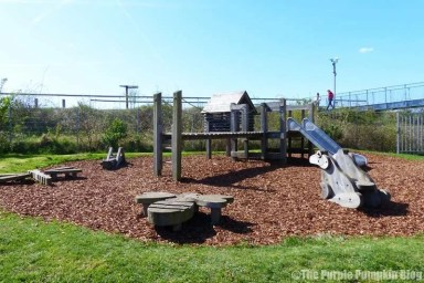 Rainham Marshes RSPB Nature Reserve - Children's Play Area