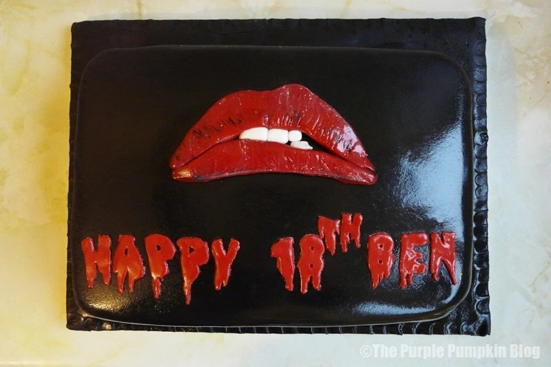 Rocky Horror Picture Show 18th Birthday Cake