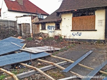 The Plough Gallows Corner - Derelict