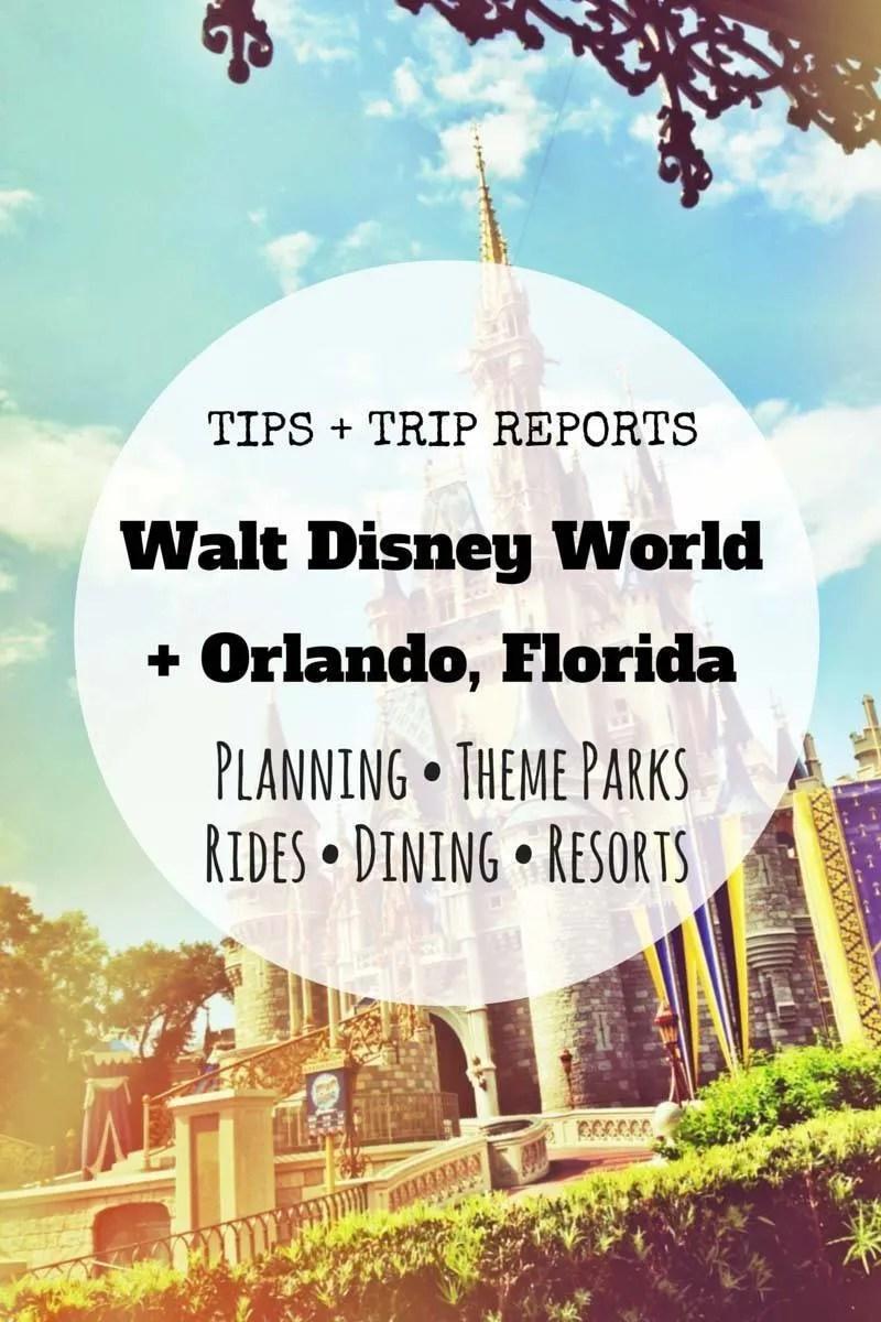 Walt Disney World Orlando, Florida Tips Trip Reports