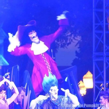 Captain Hook - Villains Unleashed at Disney Hollywood Studios