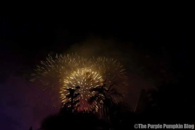 Villainy in the Sky Fireworks at the Disney Villains Unleashed