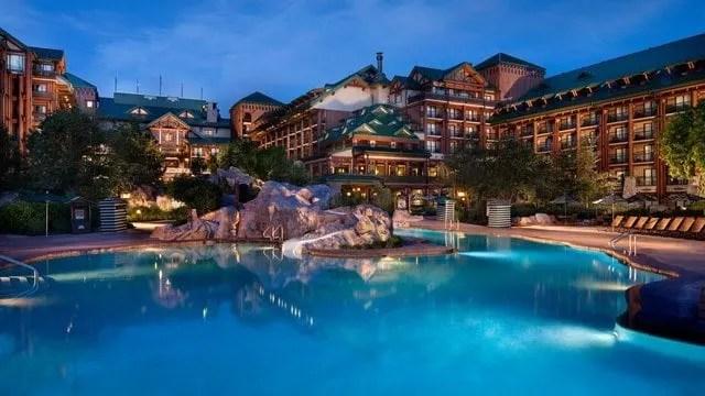 Wilderness Lodge Resort Pool