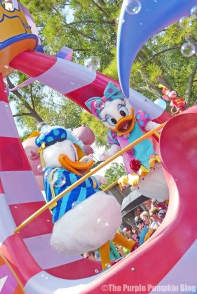 Donald & Daisy - Festival of Fantasy Parade at Disney's Magic Kingdom