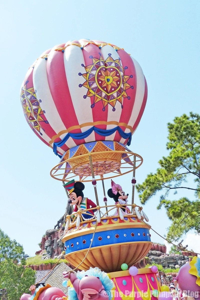 Mickey & Minnie - Festival of Fantasy Parade at Disney's Magic Kingdom