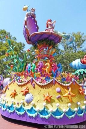 The Little Mermaid - Festival of Fantasy Parade at Disney's Magic Kingdom