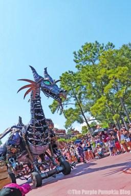 Maleficent Dragon - Festival of Fantasy Parade at Disney's Magic Kingdom