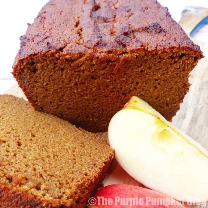 Gluten Free + Paleo Spiced Apple Loaf