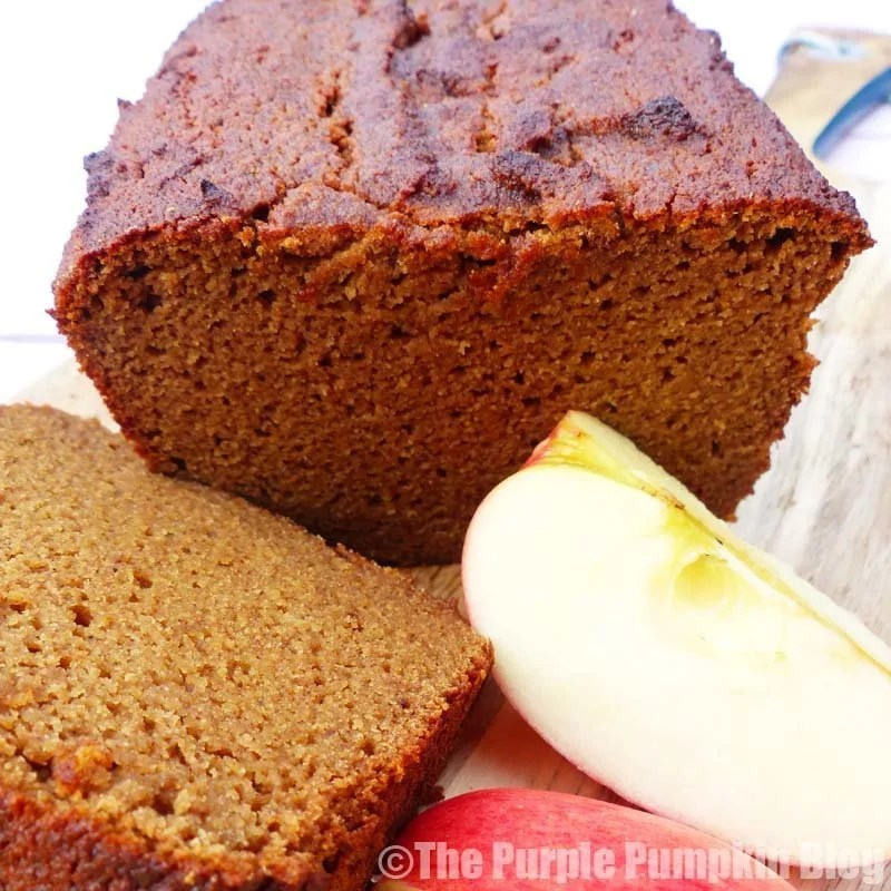 Gluten Free + Paleo Spiced Apple Loaf 2