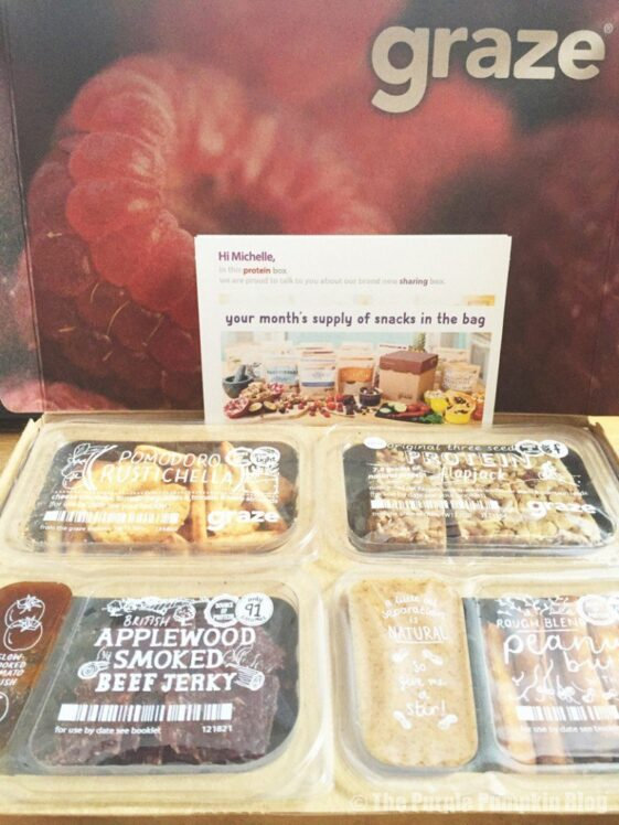 Graze Box - Protein Box Review (1)