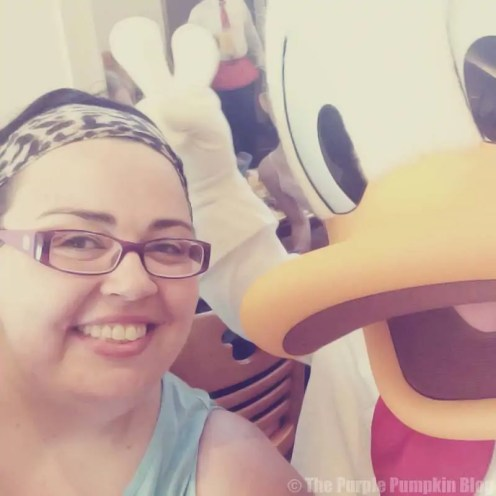 Me and Donald Duck