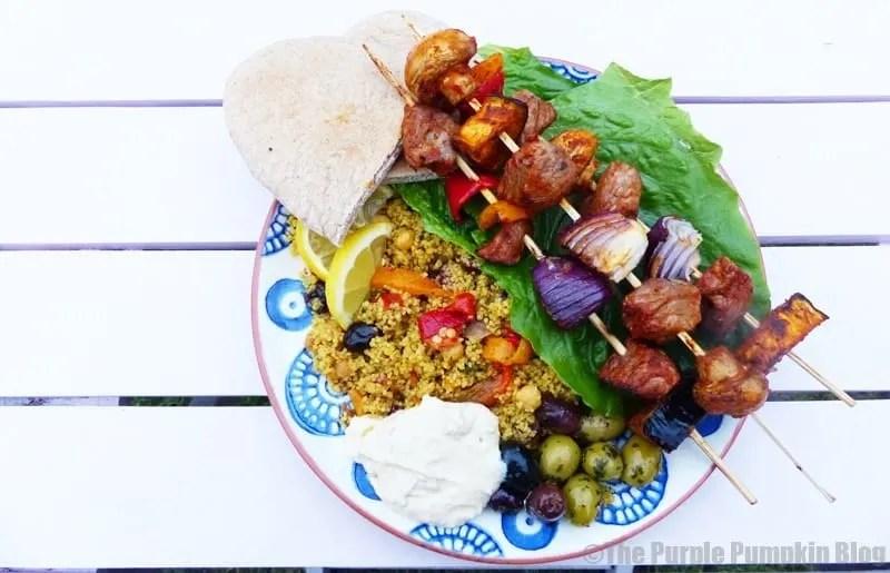 Moroccan Harissa Lamb Kebabs