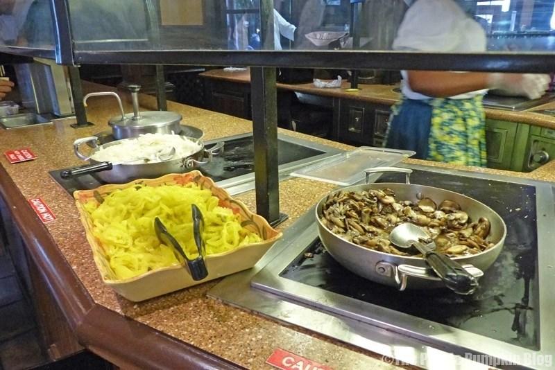 Toppings Bar at Pecos Bill Tall Tale Inn & Cafe