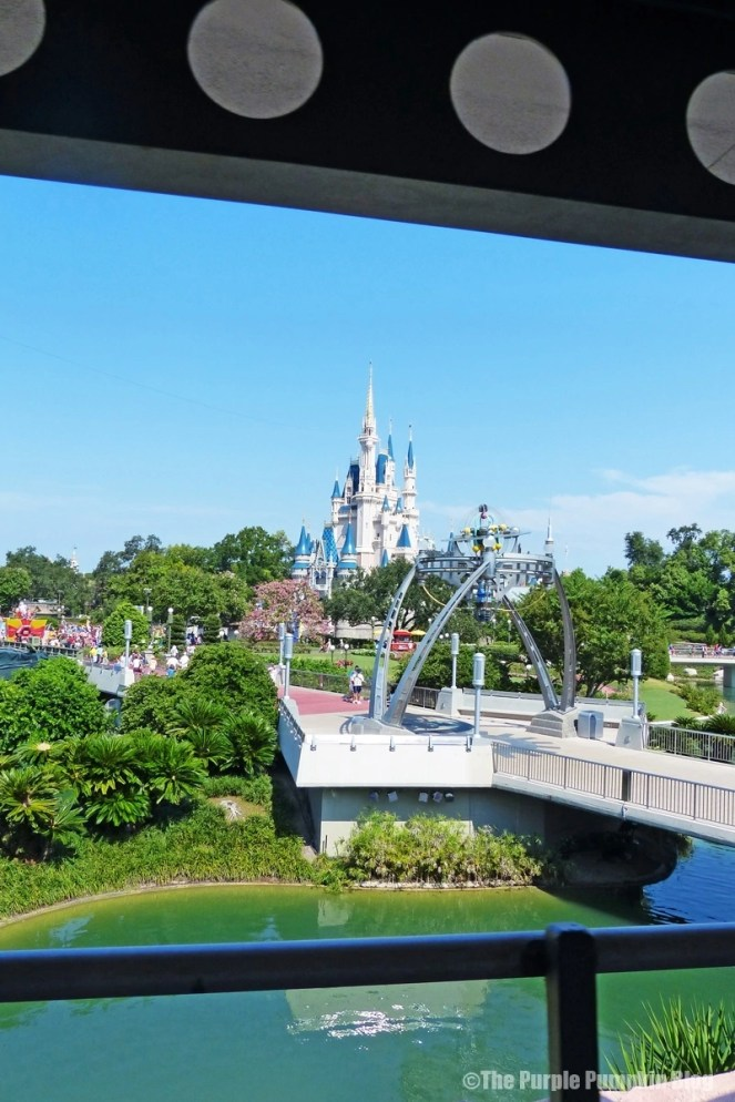 Views from Tomorrowland Transit Authority PeopleMover