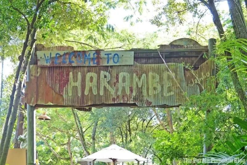 Welcome to Harambe - Animal Kingdom