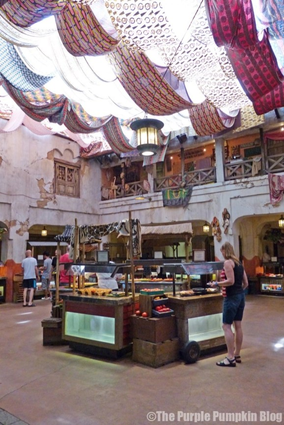 Lunch at Tusker House - Animal Kingdom