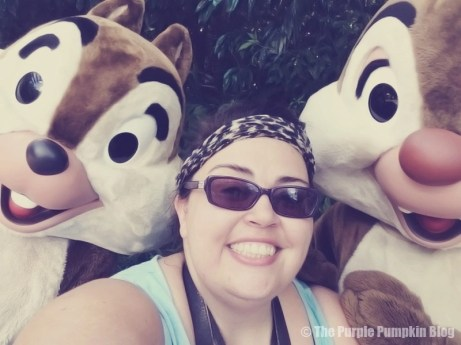 Me with Chip n Dale at Animal Kingdom