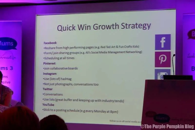 Social Media Growth Strategy