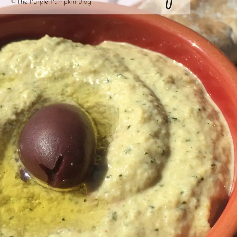 Zucchini Dip - a great alternative to hummus! And this recipe is paleo friendly too!