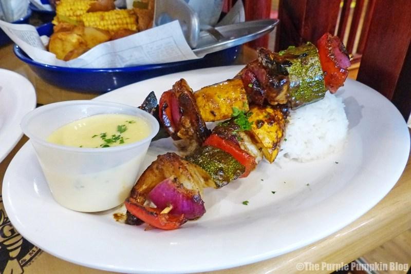 Bubba Gump Shrimp Co. London - Shrimp & Veggie Skewers
