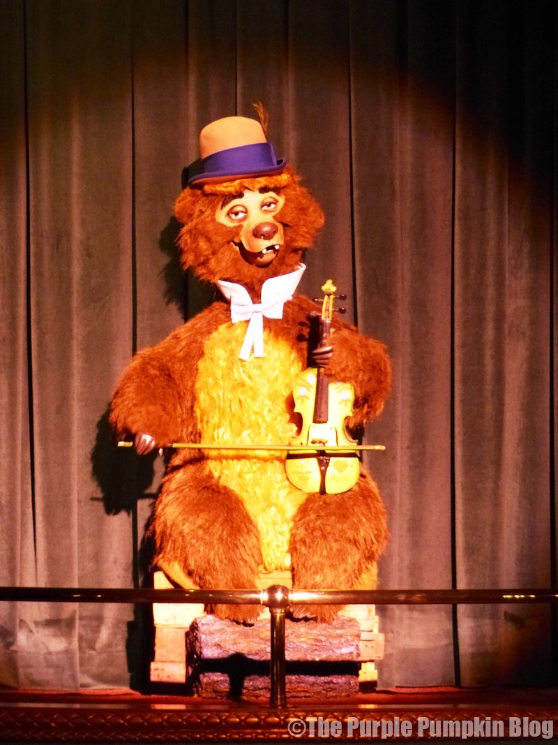 Country Bear Jamboree - Frontierland, Magic Kingdom, Walt Disney World - Ernest