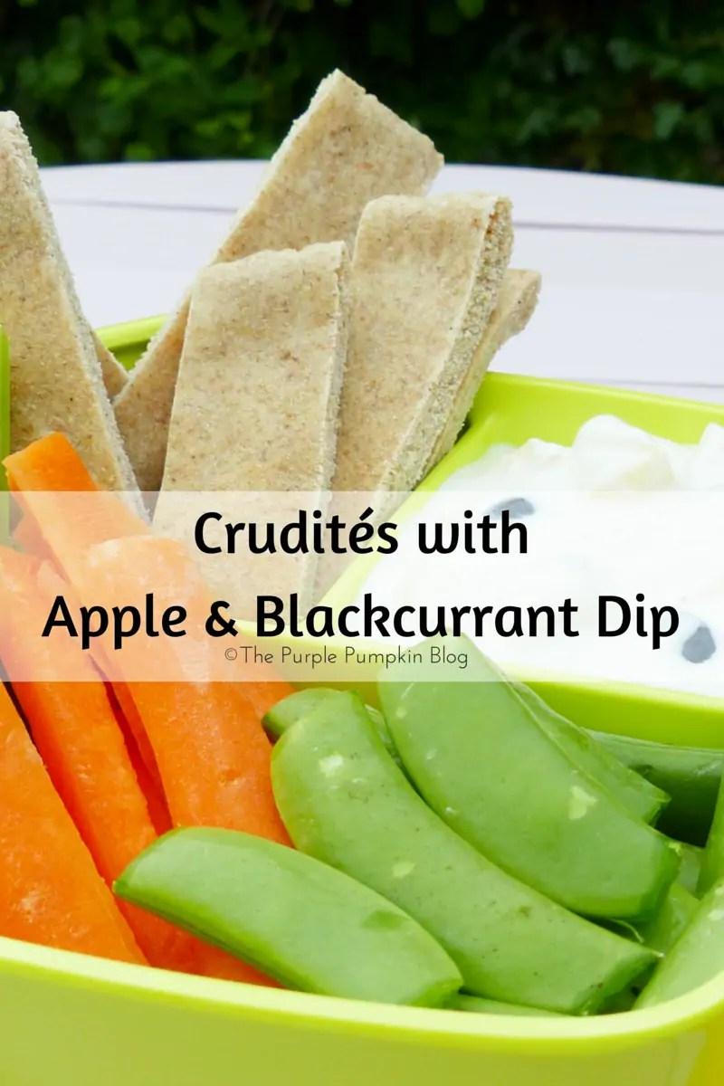 Crudités with Apple & Blackcurrant Dip