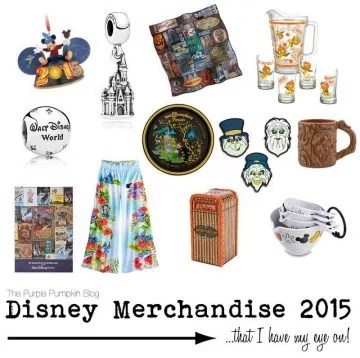 Disney Merchandise 2015 - That I have my eye on!