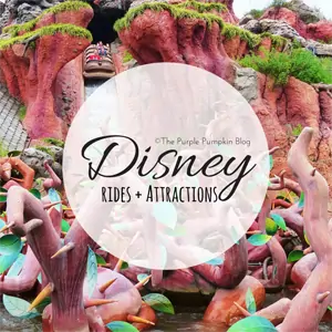 Disney Rides and Attractions on The Purple Pumpkin Blog