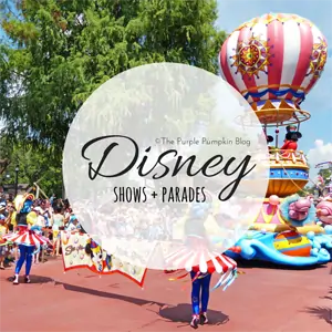 Disney Shows and Parades on The Purple Pumpkin Blog