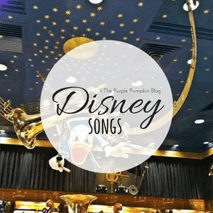 Disney Songs on The Purple Pumpkin Blog