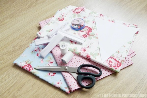 How To Make & Sew Fabric Bunting For Festivals