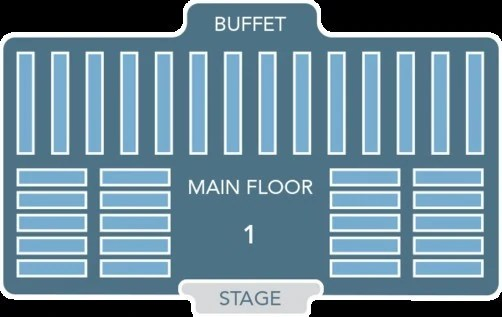 Mickey's Backyard BBQ Seating Plan