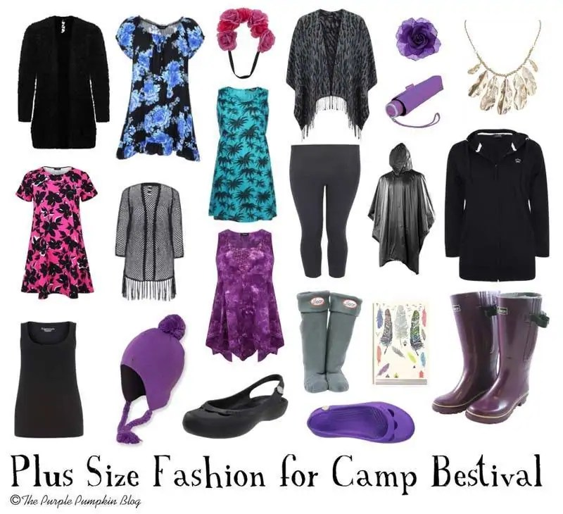 Plus Size Fashion for Camp Bestival