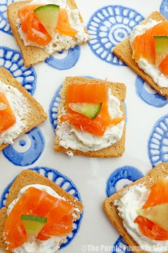 Quick and Easy Smoked Trout Canapes