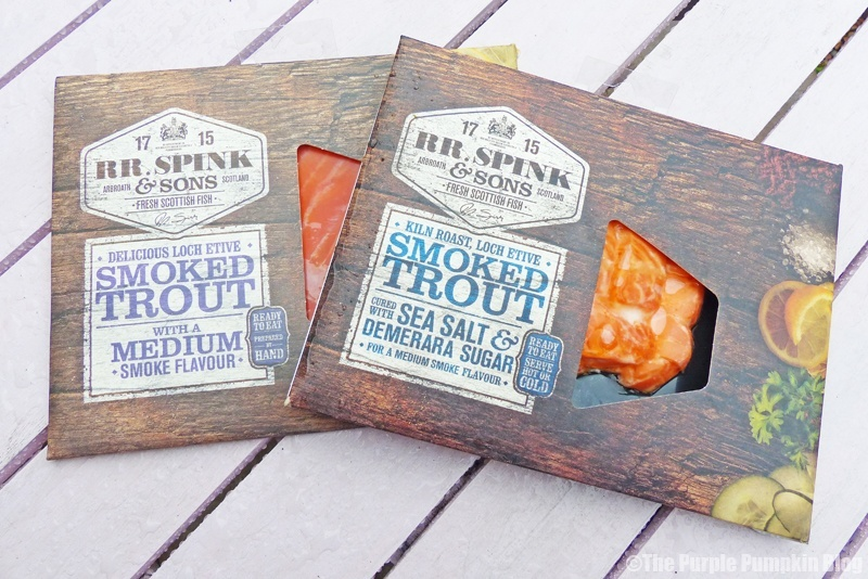 RR Spink and Sons Sustainable Smoked Trout
