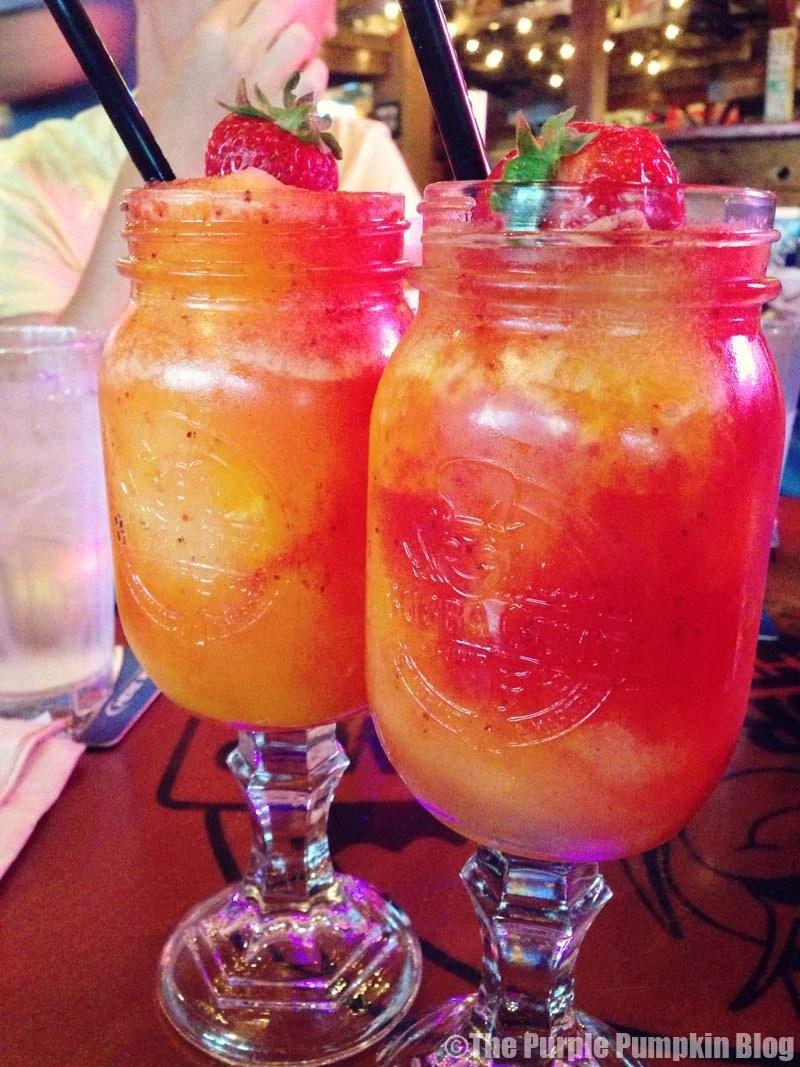 Redneck Cocktail Glasses - Bubba Gump Shrimp Co. Orlando